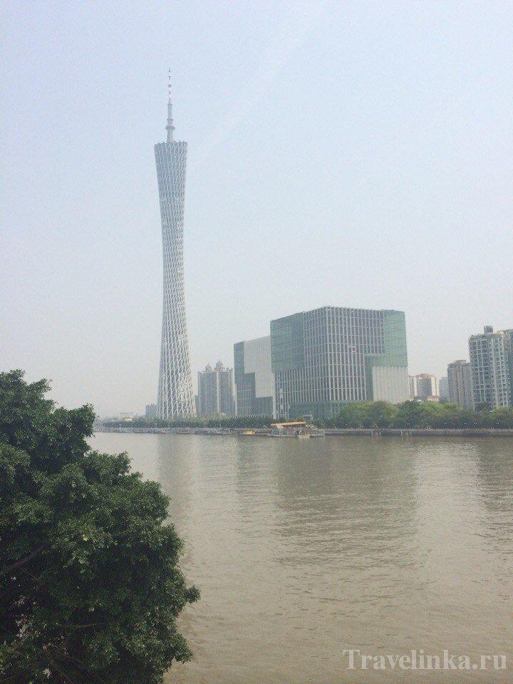 Телебашня города Гуанчжоу