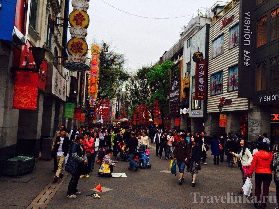 Остров Шамянь в Гуанчжоу Китай