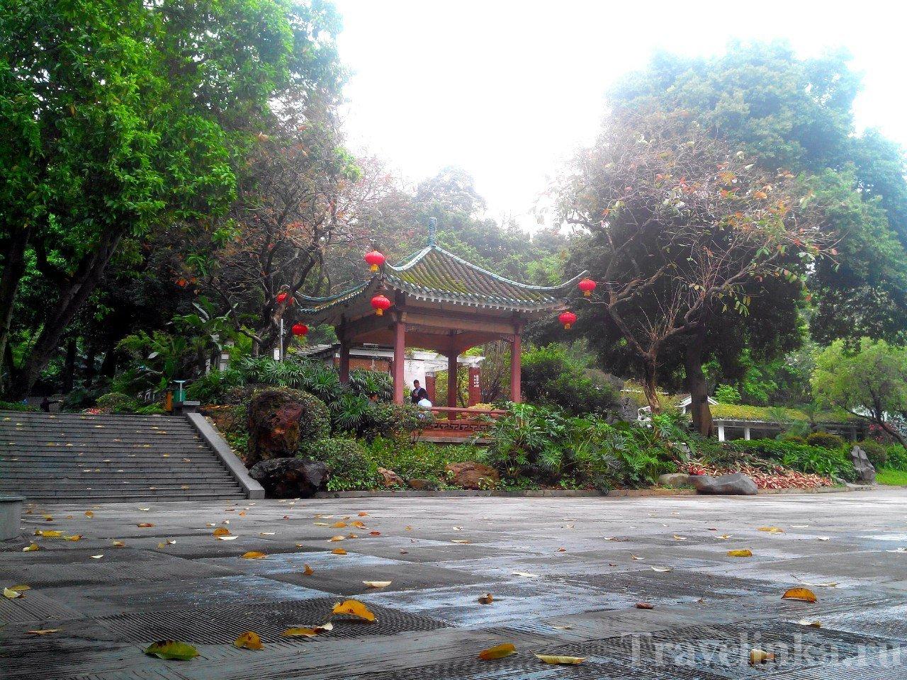 Статуя 5 козловв Гуанчжоу Китай