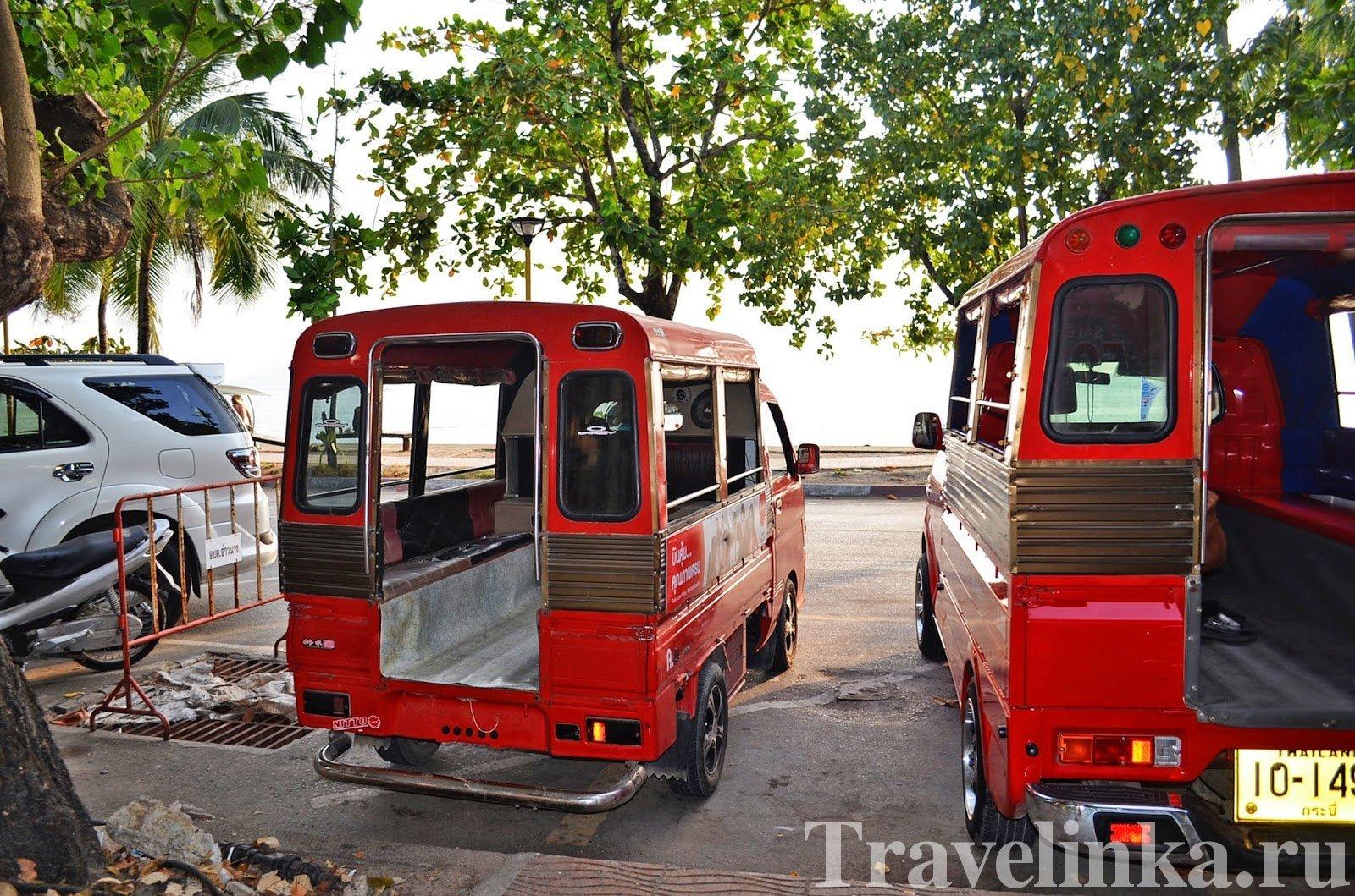 Транспорт в Таиланде - Сонгтео