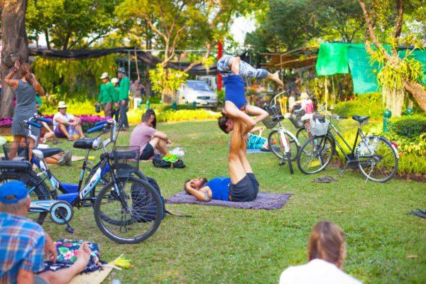 Чианг Май: городской парк