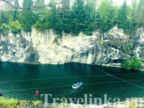 истории горного парка Рускеала в Карелии