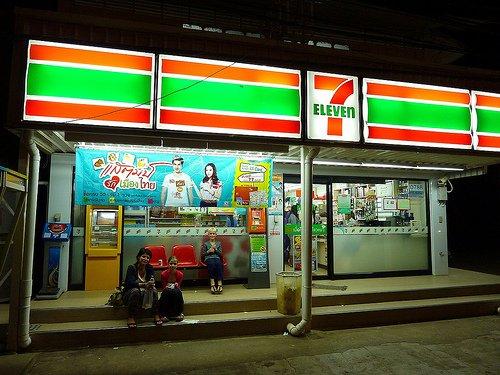 7 eleven, магазин 7 eleven, 7 eleven в тайланде