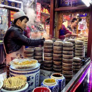 Шанхай отзыв, уличная еда в Шанхае