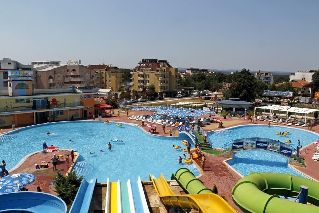 аквапарки болгарии
