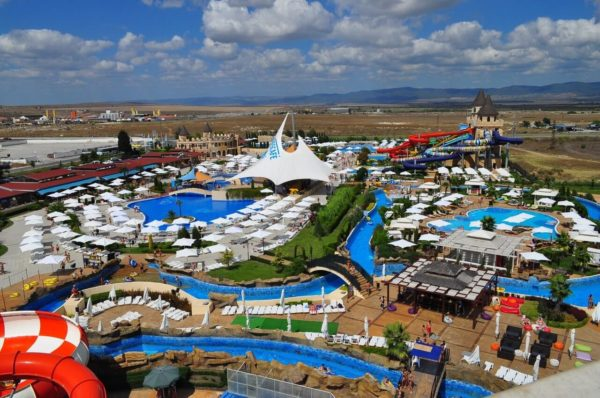 аквапарк несебр болгария