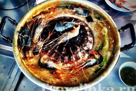 Nenjar - самый известный тайский буфет в Наклыа в Паттайе