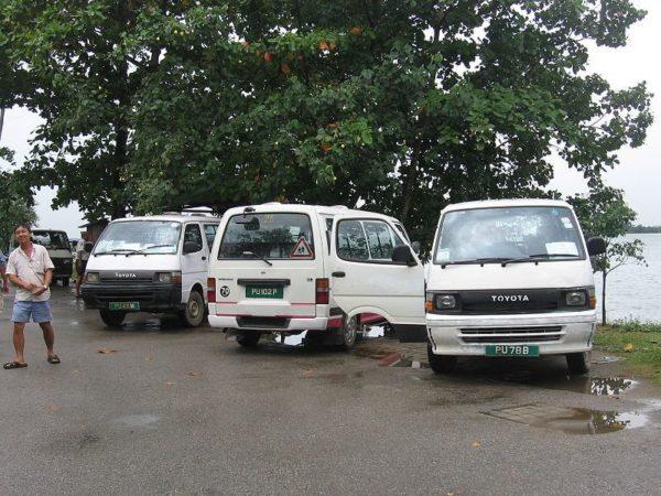 Поездка в Сингапур: такси