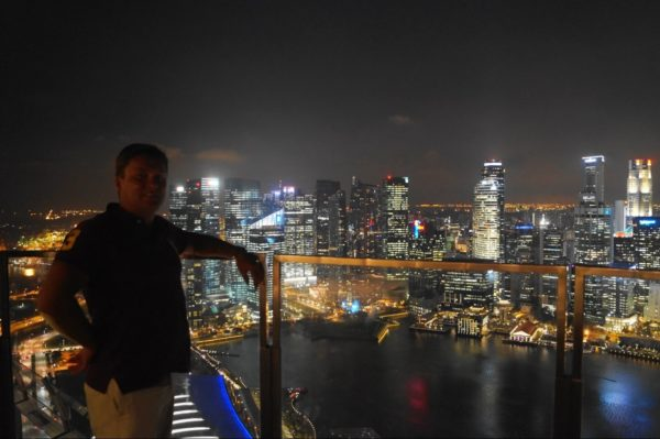 Что посмотреть в Сингапуре - Marina Bay Sands Hotel