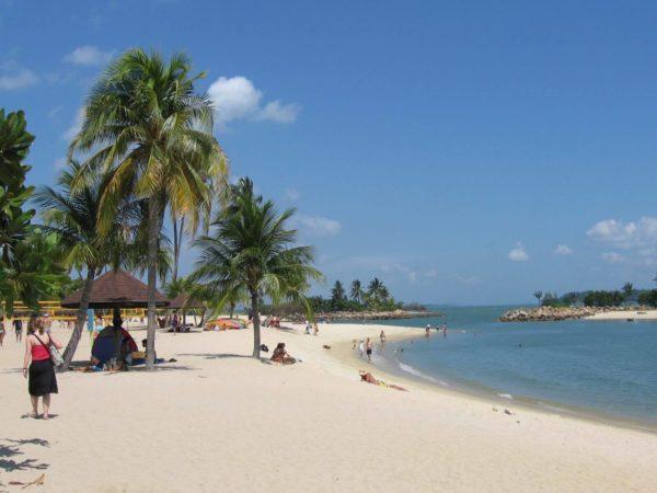 Пляжи Сингапура: Changi Coast