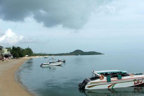 Пляж Бопхут на острове Самуи в Таиланде