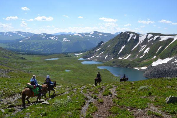 Каракольские озера (Алтай)
