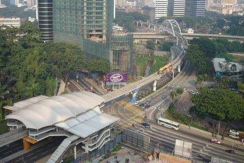 Куала-Лумпур Малайзия: транспорт