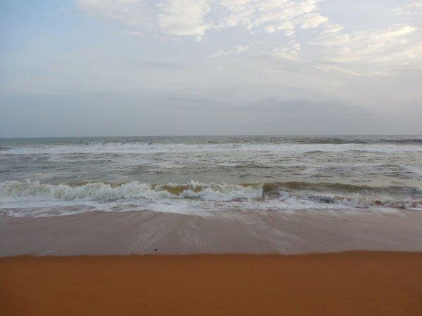 От пляжа Шангумугхам