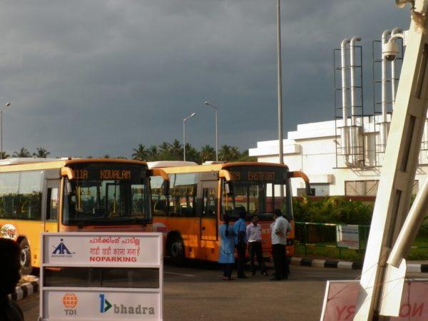 Автобус в Тривандрум