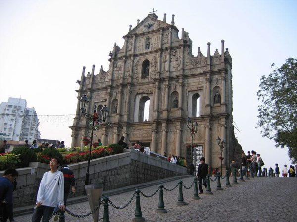 Достопримечательности Макао: Руины собора святого Павла (St. Paul's ruins)
