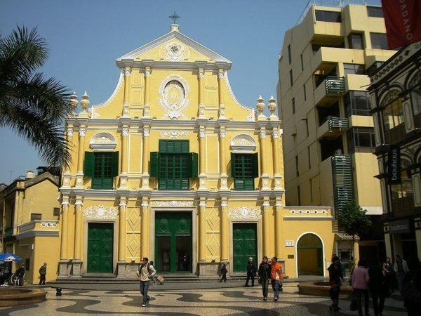 Что посмотреть в Макао: сенатская площадь и храм святого Доминика