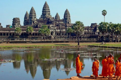 из Вьетнама в Камбоджу