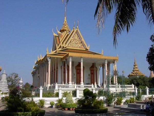 Пномпень в Камбодже