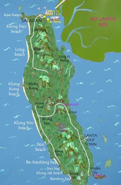 Остров Ко Ланта: как добраться из аэропорта