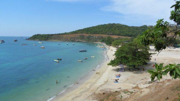 Пляж обезьян на Ко Лане (Nual Beach): расположение, описание, отели, отзывы
