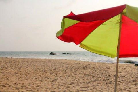 Пляж Ароссим в Гоа (Arossim Beach)