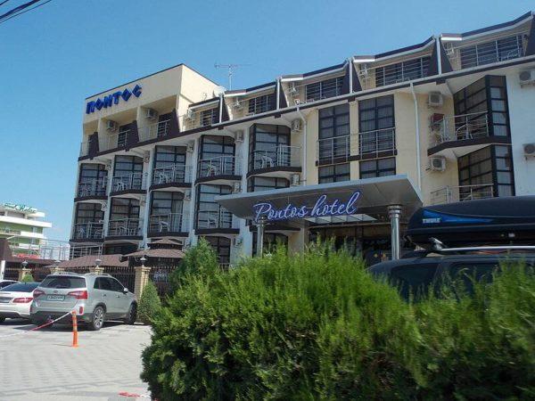 Отели в Витязево на берегу моря и гостевые дома