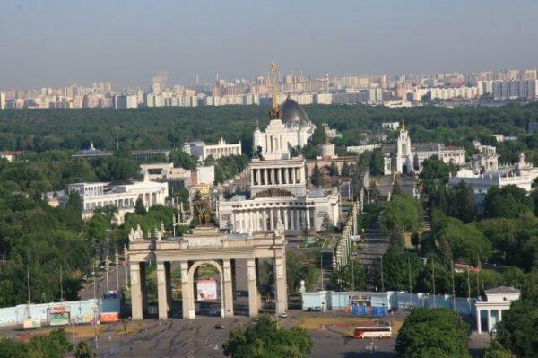 "Гостиница ""Космос"" на ВДНХ (Москва)"