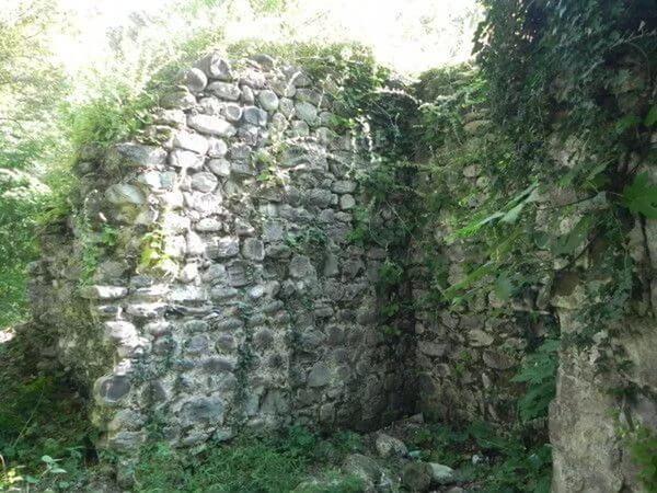 Останки крепости «Багу»