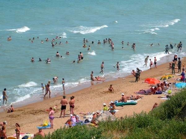отдых на азовском море пересыпь