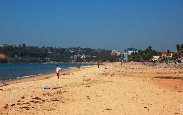 Пляж Байна (Южный Гоа)