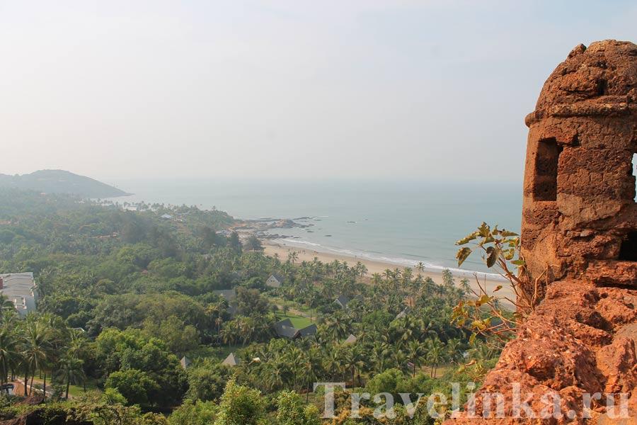 пляж Чапора в Индии