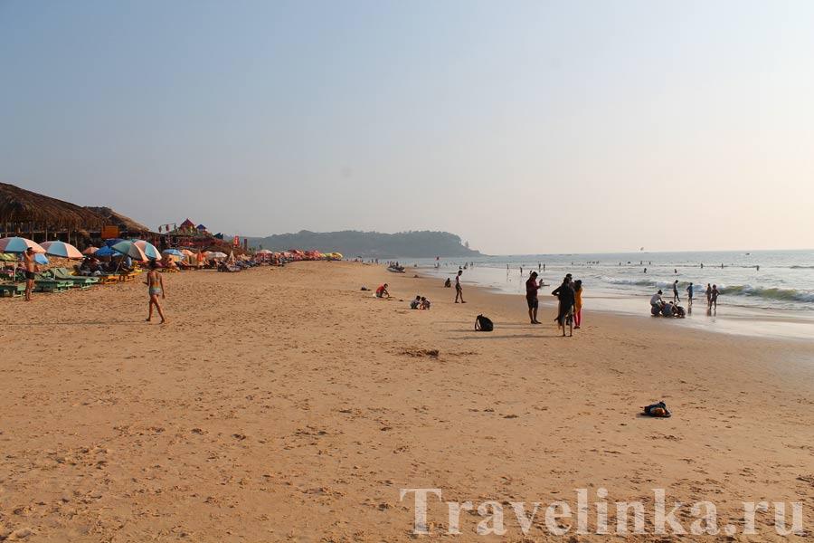 Пляж Кандолим Северный Гоа