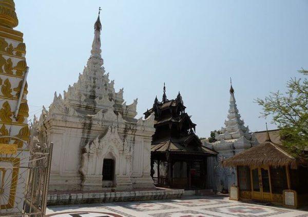 Поездка в Мандалай в Мьянме