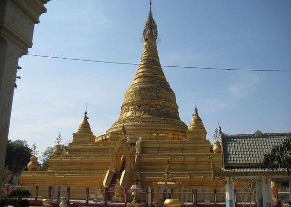 На отдыхе в Чаунг-Та в Мьянме