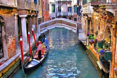 Выбираем время для посещения Венеции