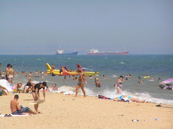 Пляж санатория «Киев»