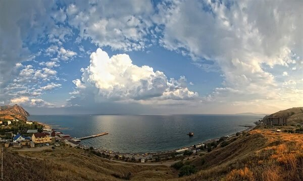 Отдых в Курортном, Крым на море