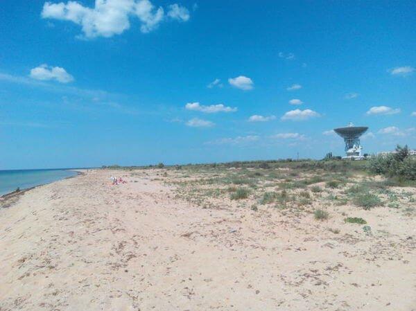 Отдых в Молочном в Крыму
