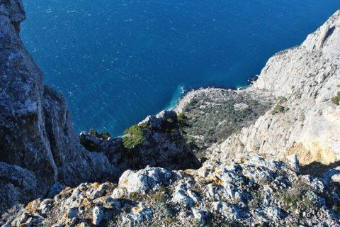 Отдых на мысе Айя и бухте Ласпи в Крыму