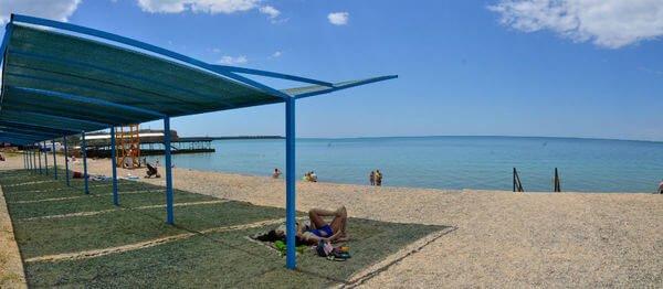 Отдых в Песчаном в Крыму