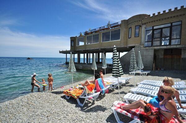 Отдых в Утесе, Крым