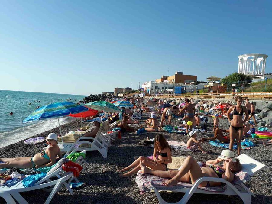 Пляжи Николаевки