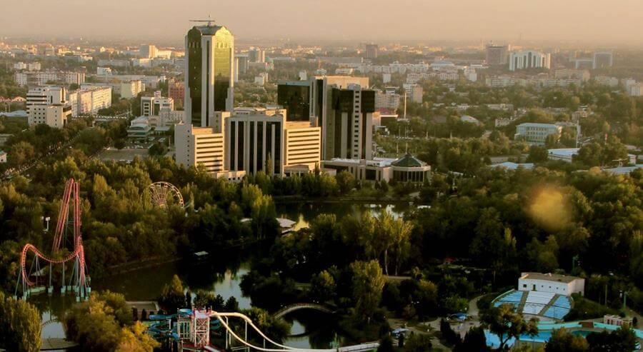 Яркий облик старинного Ташкента
