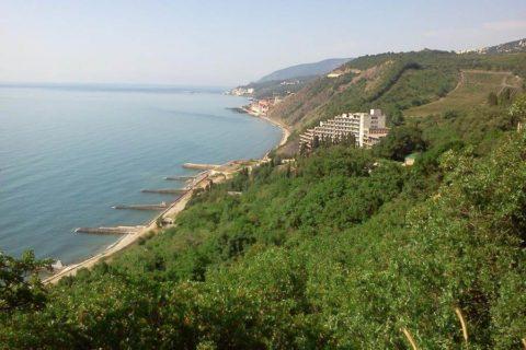 Отдых в Лазурном, Крым