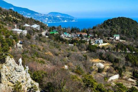 Отдых в Ливадии, Крым