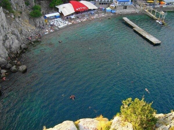 Отдых в Голубом Заливе, Крым