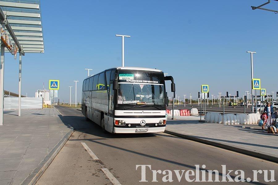 автобус в Керчь из Евпатории