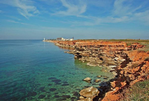 Пляжи мыса Херсонес и Херсонесской бухты