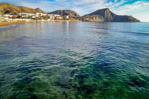 отдых в Крыму Орджоникидзе на берегу моря